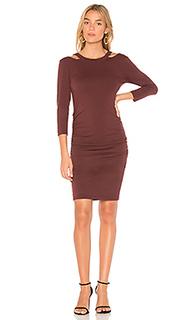 Приталенная платье с круглым вырезом - Michael Stars