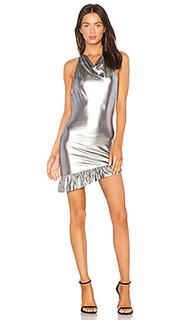 Платье с высоким горлом elise - NBD
