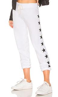 Свободные брюки foil stars - MONROW