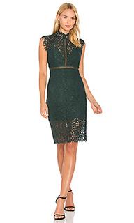 Платье с кружевной вставкой - Bardot