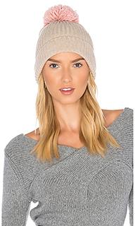 Лыжная шапочка в рубчик с помпоном - Hat Attack