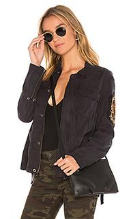 Куртка с накладным принтом - Pam & Gela
