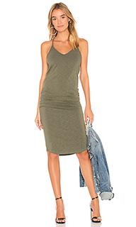 Платье-майка v neck - MONROW