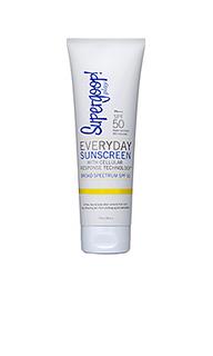 Солнцезащитный крем spf50 everyday - Supergoop