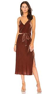 Платье-комбинация v neck - FRAME