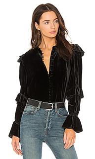 Блуза с рюшами victorian - FRAME