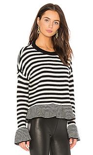 Вязаный пуловер stripe seren - Cinq a Sept