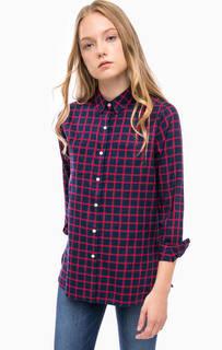 Рубашка в клетку с нагрудными карманами Barbour