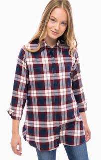 Туника-рубашка с нагрудными карманами Barbour