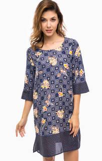 Шелковое платье с цветочным принтом Pennyblack