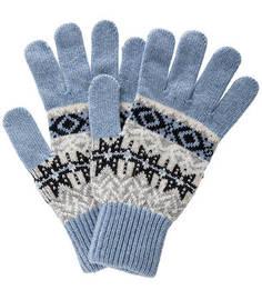 Шерстяные вязаные перчатки Barbour