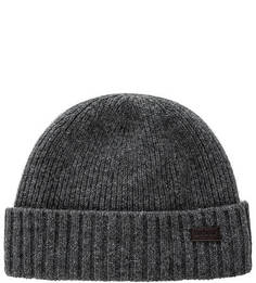 Вязаная шерстяная шапка Barbour
