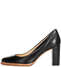 Кожаные туфли с круглым носом Clarks