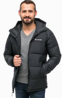 Черная куртка с капюшоном Columbia