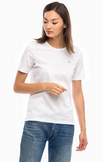 Базовая хлопковая футболка Tommy Hilfiger