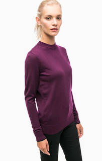 Фиолетовый джемпер из шерсти Fred Perry