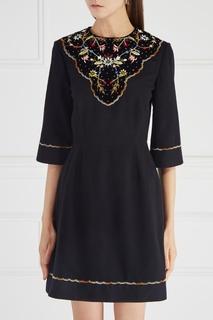 Платье с вышивкой Alexis Vilshenko