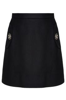 Шерстяная юбка No.21