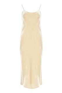 Бархатное платье Vince