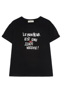 Хлопковая футболка Laroom