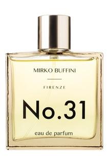 Парфюмерная вода No.31, 100 ml Mirko Buffini Firenze