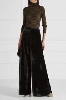 Бархатные брюки M Missoni