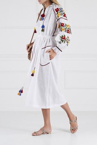 Льняное платье Boucle