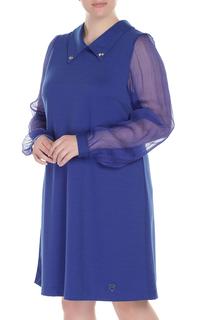 Свободное платье с прозрачными рукавами DONATELLA VIA ROMA