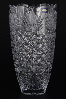 Ваза для цветов 25 см Crystalite Bohemia