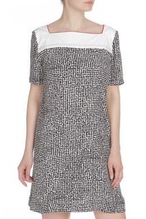 Платье с квадратной горловиной Liviana Conti