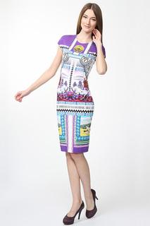 Приталенное платье с принтом Mary Katrantzou