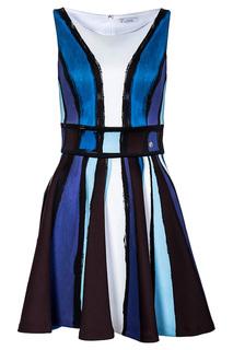 Оригинальное платье на молнии Versace Collection