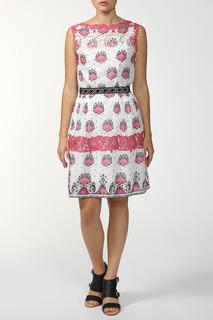 Платье без рукавов с кружевными вставками FHILOSOPHY DI ALBERTA FERRETTI