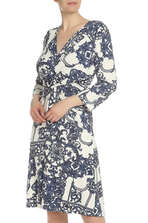 Приталенное платье с рукавами Piero Moretti