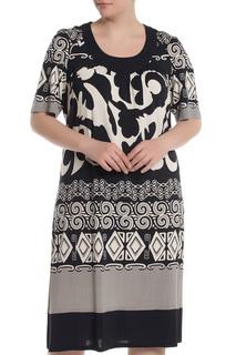 Свободное платье с круглой горловиной Piero Moretti