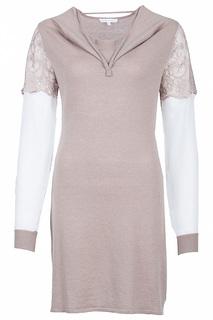 Утепленное платье с длинными рукавами Patrizia Pepe