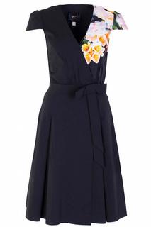 Повседневное платье с аппликацией Class Cavalli