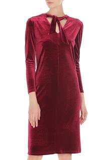 Платье бархатное с завязкой Alina Assi