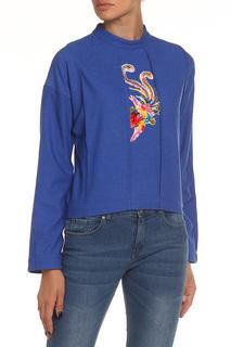 Блуза с аппликацией NATALIA PICARIELLO