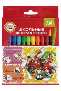 Набор фломастеров, 12 цв. KOH-I-NOOR