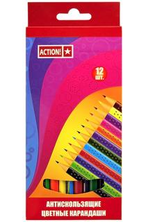 Набор карандашей, 12 цв ACTION!
