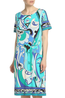 Свободное платье с короткими рукавами Piero Moretti