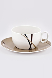 """Чашка с блюдцем """"Мокко"""" Royal Porcelain"""