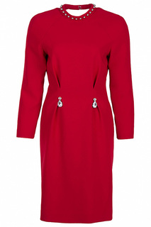 Приталенное платье с рукавами реглан Moschino Cheap & Chic