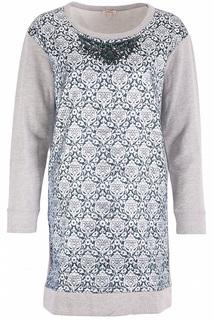Укороченное платье с орнаментом P.A.R.O.S.H.