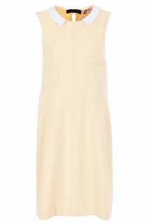 Повседневное платье с воротником N°21