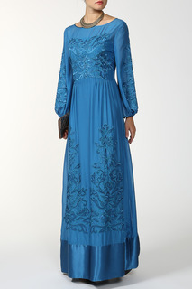 Вечернее платье с декором FHILOSOPHY DI ALBERTA FERRETTI