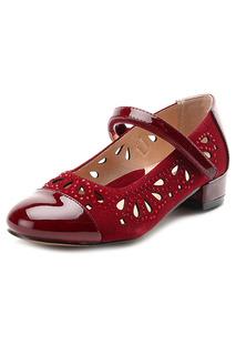 Туфли школьные Зебра