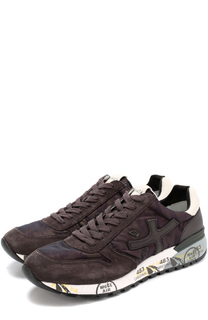Замшевые кроссовки Mick с текстильными вставками Premiata