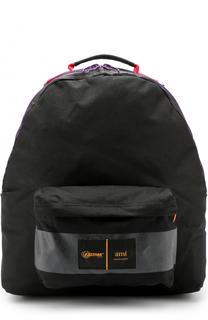Текстильный рюкзак с карманом Ami
